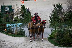 Voutaz Jerome, (SUI), Eva III, Flore CH, Folie des Moulins CH, Leny CH <br /> FEI World Cup Driving <br /> Genève 2015<br /> © Hippo Foto - Dirk Caremans<br /> 13/12/15