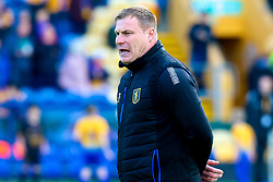 Mansfield Town manager David Flitcroft - Mandatory by-line: Ryan Crockett/JMP - 12/05/2019 - FOOTBALL - One Call Stadium - Mansfield, England - Mansfield Town v Newport County - Sky Bet League Two Play-Off Semi-Final 2nd Leg