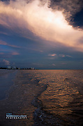 Sunset at Fort Myers Beach, Florida
