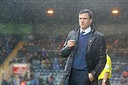 Gary Caldwell during the Sky Bet League 1 match between Rochdale and Wigan Athletic at Spotland, Rochdale, England on 14 November 2015. Photo by Daniel Youngs.
