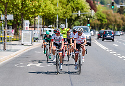 25.04.2018, Innsbruck, AUT, ÖRV Trainingslager, UCI Straßenrad WM 2018, im Bild Gregor Mühlberger (AUT), Thomas Rohregger (AUT) // during a Testdrive for the UCI Road World Championships in Innsbruck, Austria on 2018/04/25. EXPA Pictures © 2018, PhotoCredit: EXPA/ JFK