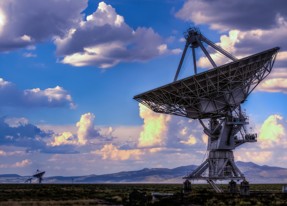 A radio telescope is a form of directional radio antenna used in radio astronomy, New Mexico, Rocky Mountains, Techknowledgey