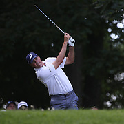 Matt Kuchar, USA, in action during the third round of the Travelers Championship at the TPC River Highlands, Cromwell, Connecticut, USA. 21st June 2014. Photo Tim Clayton