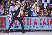 DESCRIZIONE : Campionato 2015/16 Serie A Beko Dinamo Banco di Sardegna Sassari - Grissin Bon Reggio Emilia<br /> GIOCATORE : Marco Calvani<br /> CATEGORIA : Mani Ritratto Allenatore Coach<br /> SQUADRA : Dinamo Banco di Sardegna Sassari<br /> EVENTO : LegaBasket Serie A Beko 2015/2016<br /> GARA : Dinamo Banco di Sardegna Sassari - Grissin Bon Reggio Emilia<br /> DATA : 23/12/2015<br /> SPORT : Pallacanestro <br /> AUTORE : Agenzia Ciamillo-Castoria/C.Atzori