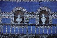 Portugal. Lisbon. Palacio de Fronteira. Azuleijos.