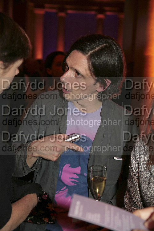 Jeremy Deller, Turner Prize 2006. Tate Gallery. London. 4 December 2006. ONE TIME USE ONLY - DO NOT ARCHIVE  © Copyright Photograph by Dafydd Jones 248 CLAPHAM PARK RD. LONDON SW90PZ.  Tel 020 7733 0108 www.dafjones.com