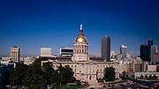 Georgia State Capitol Building - Atlanta, Georgia - Aerials