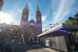 Franciscan Church in Maribor, Slovenia on 27th of September.  Photo by Milos Vujinovic / Sportida