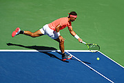 FLUSHING MEADOW, NY - SEPTEMBER 04: RAFAEL NADAL (ESP) during day eight match of the 2017 US Open on September 04, 2017 at Billie Jean King National Tennis Center, Flushing Meadow, NY.(Photo by Chaz Niell/Icon Sportswire)