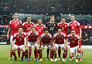 FOOTBALL: The danish team before the Friendly match between Denmark and Germany at Brøndby Stadion on June 6, 2017 in Brøndby, Denmark. Photo by: Claus Birch / ClausBirch.dk.