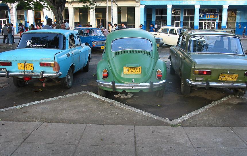 Volkswagen Beetle in Havana, Cuba..Photo/Angel Valentin
