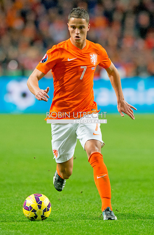 AMSTERDAM - Ibrahim Afellay in action during the match against Latvia Netherlands in the Amsterdam Arena. COPYRIGHT ROBIN UTRECHT