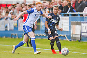 Leeds United midfielder Ezgjan Alioski (10) passes the ball during the Pre-Season Friendly match between Guiseley  and Leeds United at Nethermoor Park, Guiseley, United Kingdom on 11 July 2019.