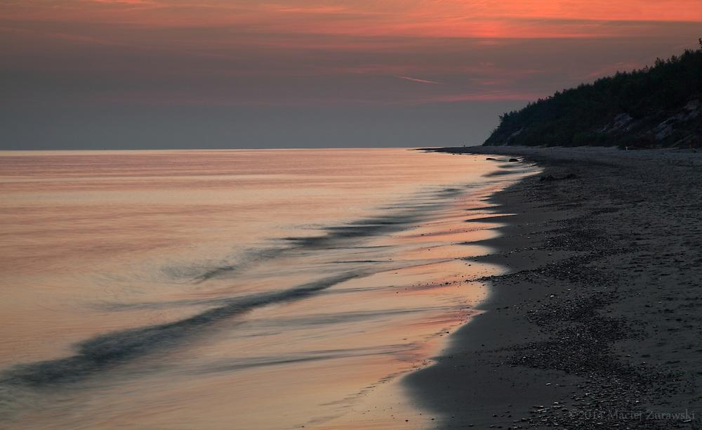Waves at dawn.