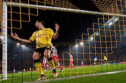 01.11.2011, Signal Iduna Park, Dortmund, GER, UEFA Champions League, Vorrunde, Borussia Dortmund (GER) vs Olympiacos Piraeus (GRE), im Bild Robert Lewandowski (#9 Dortmund) // during Borussia Dortmund (GER) vs Olympiacos Piraeus (GRE) at Signal Iduna Park, Dortmund, GER, 2011-11-01. EXPA Pictures © 2011, PhotoCredit: EXPA/ nph/  Kurth       ****** out of GER / CRO  / BEL ******