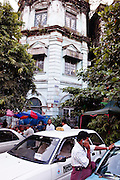 Yangon Division Court (formerly Currency Department), Yangon, Myanmar.