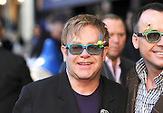 30.JANUARY.2011.  LONDON<br /> <br /> SIR ELTON JOHN WHO WAS THE EXECUTIVE PRODUCER AND PARTNER DAVID FURNISH WHO WAS THE PRODUCER ATTEND THE UK PREMIERE OF THEIR NEW FILM GNOMEO AND JULIET AT THE ODEON CINEMA, LEICESTER SQUARE.<br /> <br /> BYLINE MUST READ: EDBIMAGEARCHIVE.COM<br /> <br /> *THIS IMAGE IS STRICTLY FOR UK NEWSPAPERS AND MAGAZINES ONLY*<br /> *FOR WORLDWIDE SALES AND WEB USE PLEASE CONTACT EDBIMAGEARCHIVE - 0208 954 5968*