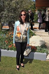 OLIVIA HARRISON at the 2011 RHS Chelsea Flower Show VIP & Press Day at the Royal Hospital Chelsea, London, on 23rd May 2011.