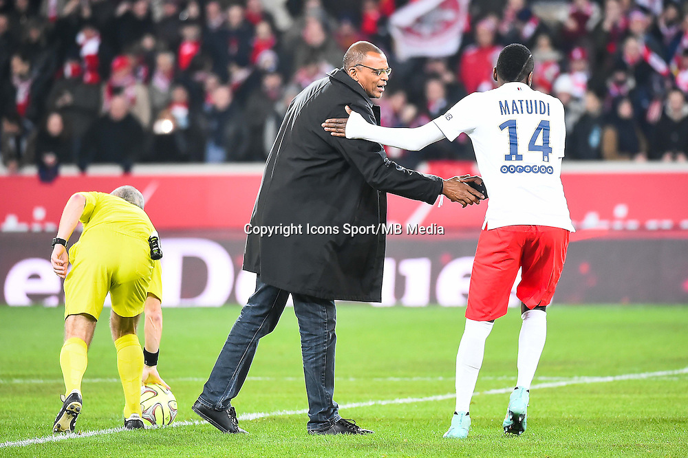 Bernard LAMA / Blaise MATUIDI - 03.12.2014 - Lille / Paris Saint Germain - 16eme journee de Ligue 1 -<br />
