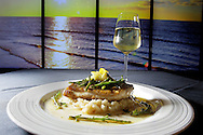 BRENDAN FITTERER  |  Times<br /> Bandit Boat Fish with parmesan risotto, brown butter sauce and meyer lemon, prepared by Chef Paul Syms at Dulcet Restaurant &amp; Lounge in downtown New Port Richey.