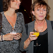 NLD/Amsterdam/20110929 - Presentatie biografie Mies Bouwman,Conny Palmen