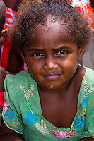 Kanak (Melanesian) school children, Patho, Island of Mare, Loyalty Islands, New Caledonia