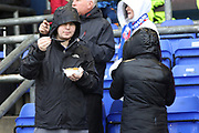 Chips during the EFL Sky Bet League 1 match between Oldham Athletic and Scunthorpe United at Boundary Park, Oldham, England on 28 October 2017. Photo by George Franks.
