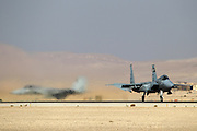 Israeli Air force (IAF) Fighter jet F-15 (BAZ)at takeoff