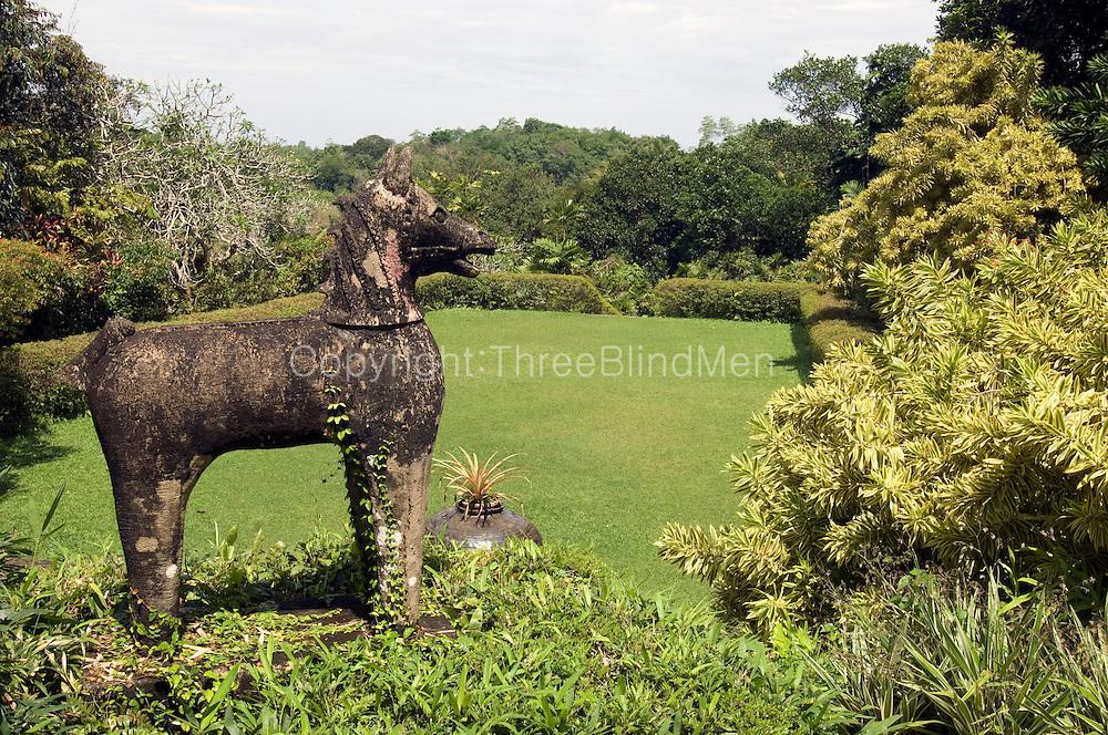 'BRIEF' Bevis Bawa's home and garden near Aluthgama, Sri Lanka.
