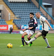 Dundee&rsquo;s Faissal El Bakhtaoui and \2 - Dundee v Inverness Caledonian Thistle in the Ladbrokes Scottish Premiership at Dens Park, Dundee, Photo: David Young<br /> <br />  - &copy; David Young - www.davidyoungphoto.co.uk - email: davidyoungphoto@gmail.com