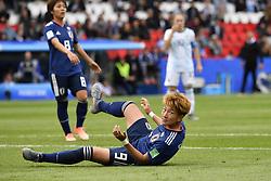 June 10, 2019 - Paris, ile de france, France - Yuika SUGASAWA (JPN) in Action during the match between Argentina and Japan at the 2019 World cup  on June 10, 2019, at the Parc des Princes stadium in Paris, France. (Credit Image: © Julien Mattia/NurPhoto via ZUMA Press)