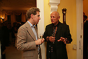 Mathew Steeples and Stephen Berkoff, Richard and Basia Briggs host a party to celebrate Leopold the Horse's 21st Birthday. 35 Sloane Gdns. London SW1. -DO NOT ARCHIVE-© Copyright Photograph by Dafydd Jones. 248 Clapham Rd. London SW9 0PZ. Tel 0207 820 0771. www.dafjones.com.