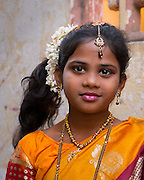 Young girl - Chennai, India