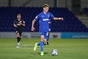 AFC Wimbledon Jack Rudoni (12) dribbling during the EFL Trophy (Leasing.com) match between AFC Wimbledon and U23 Brighton and Hove Albion at the Cherry Red Records Stadium, Kingston, England on 3 September 2019.