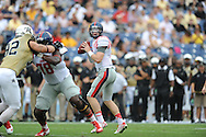 Ole Miss Rebels quarterback Bo Wallace (14) vs. Vanderbilt at L.P. Field in Nashville, Tenn. on Saturday, September 6, 2014. Ole Miss won 41-3.
