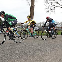 29-02-2020: Wielrennen: Ster van Zwolle: Zwolle <br />Ruben Buitendijk, Rick Pluimers, GertJan Bosman, Mick van Dijke