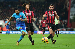 Theo Walcott of Arsenal shoots at goal. - Mandatory by-line: Alex James/JMP - 14/01/2018 - FOOTBALL - Vitality Stadium - Bournemouth, England - Bournemouth v Arsenal - Premier League