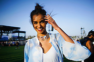Giizele Oliveira at Coachella 2016 2