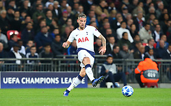 November 6, 2018 - London, England, United Kingdom - London, England - November 06, 2018.Tottenham Hotspur's Toby Alderweireld.during Champion League Group B between Tottenham Hotspur and PSV Eindhoven at Wembley stadium , London, England on 06 Nov 2018. (Credit Image: © Action Foto Sport/NurPhoto via ZUMA Press)