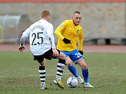 Bristol Rovers' Adam Dawson  - Photo mandatory by-line: Neil Brookman/JMP - Mobile: 07966 386802 - 28/02/2015 - SPORT - Football - Gateshead - Gateshead International Stadium - Gateshead v Bristol Rovers - Vanarama Football Conference