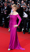 Jane Fonda  attends the 'Inside Llewyn Davis' Red Carpet during the 66th Annual Cannes Film Festival at the Palais des Festivals on May 19, 2013 in Cannes, France.