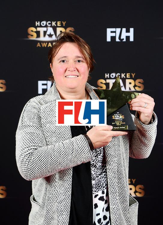 BERLIJN - FIH Hockey Stars Awards<br /> Foto: Best Coach<br /> Alyson Annan<br /> WORLDSPORTPICS COPYRIGHT FRANK UIJLENBROEK