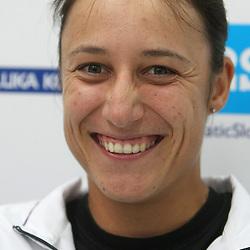 20080722: Tennis - Katarina Srebotnik at press conference