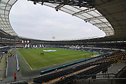Hull City KCOM ground before the EFL Sky Bet Championship match between Hull City and Reading at the KCOM Stadium, Kingston upon Hull, England on 13 January 2018. Photo by Ian Lyall.