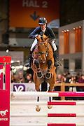 Miranda Esser - Herakles<br /> Finale Blom Hengstencompetitie Springen 2016/2017<br /> KWPN Hengstenkeuring 2017<br /> © DigiShots