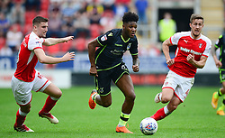 Ellis Harrison of Bristol Rovers attacks forward. - Mandatory by-line: Alex James/JMP - 21/04/2018 - FOOTBALL - Aesseal New York Stadium - Rotherham, England - Rotherham United v Bristol Rovers - Sky Bet League One