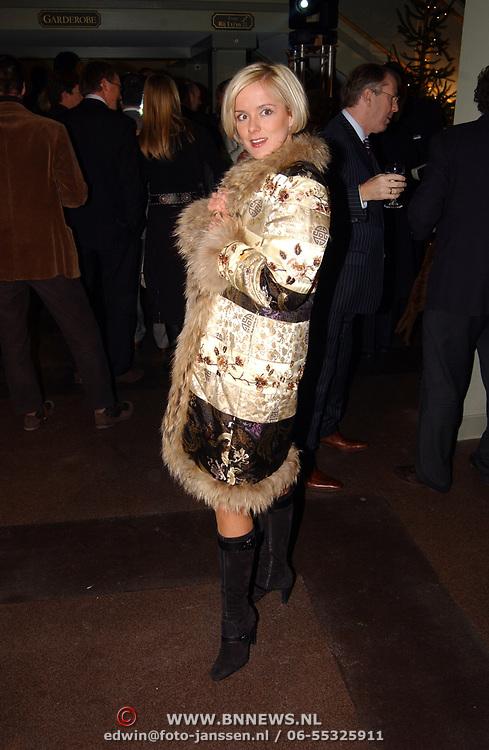 Kerstborrel Princess 2004, Suze Mens