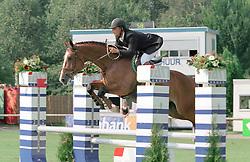 Van de Wetering Ad-Asterix<br />KWPN Paardendagen 2001<br />Photo © Dirk Caremans