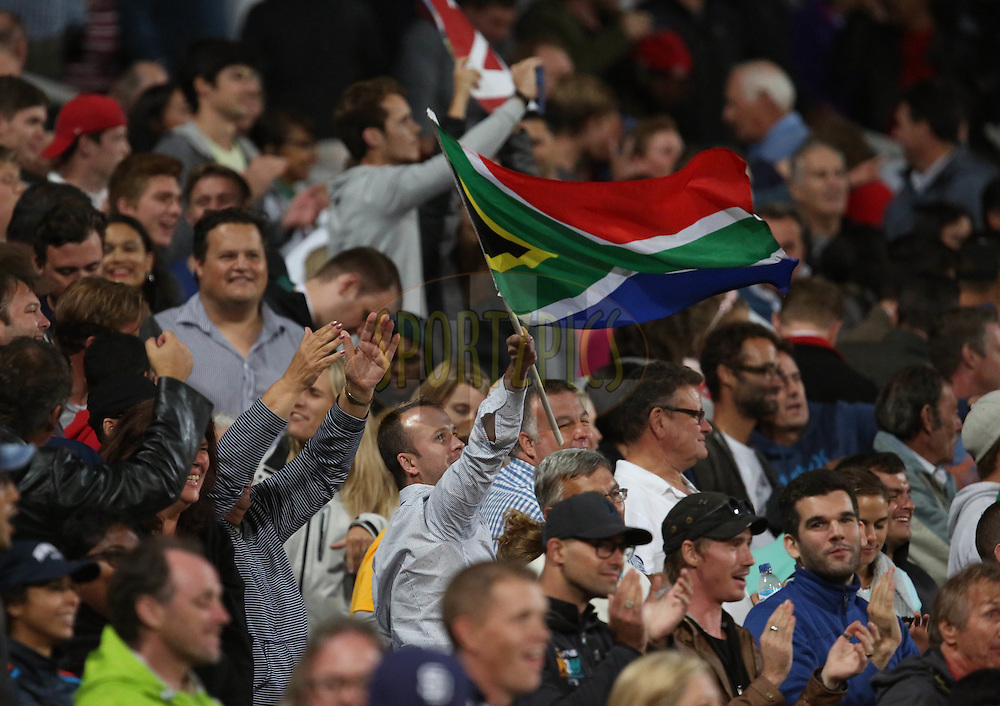 Supporters during the First KFC T20 Match between South Africa and England played at Newlands Stadium, Cape Town, South Africa on February 19th 2016