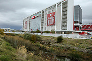 Nov 26, 2017; Santa Clara, CA, USA; General view of Levi's Stadium prior to game between the San Francisco 49ers and the Seattle Seahawks.